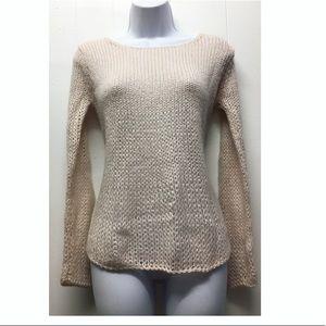 TopShop   Light Pink Chunky Knit Sweater EUC